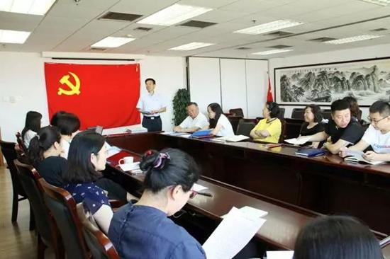 中国安防协会党支部举办主题党日活动