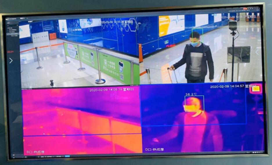 佳都AI智能体温人脸追踪监测系统上线