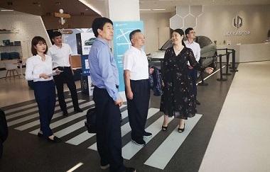 中安协理事长王彦吉一行赴会员企业走访调研